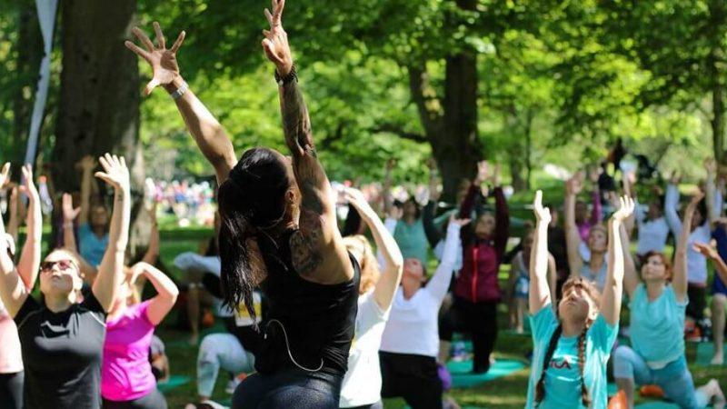 Hitta rytmen med Yoga Run